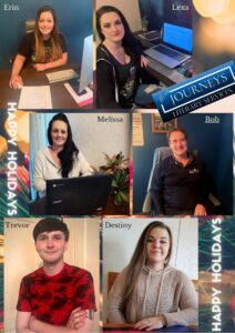 Word Journeys Team Holiday Greetings