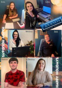 Word Journeys Team Holiday Greetings